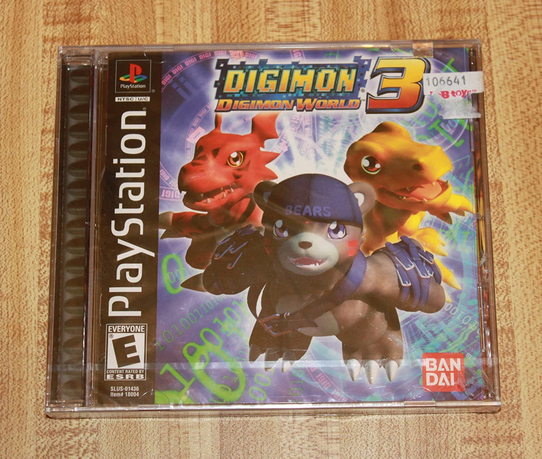 Digimon World 3 / Game [Importación Inglesa]: Amazon.es: Videojuegos