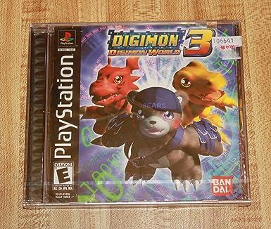 Digimon World 3 Video Games