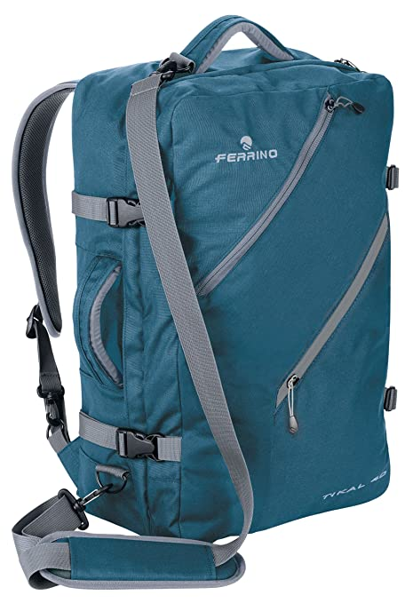 189cd889ae Ferrino Tikal 30 Zaino Viaggio, Blu, 30 L: Amazon.it: Sport e tempo ...