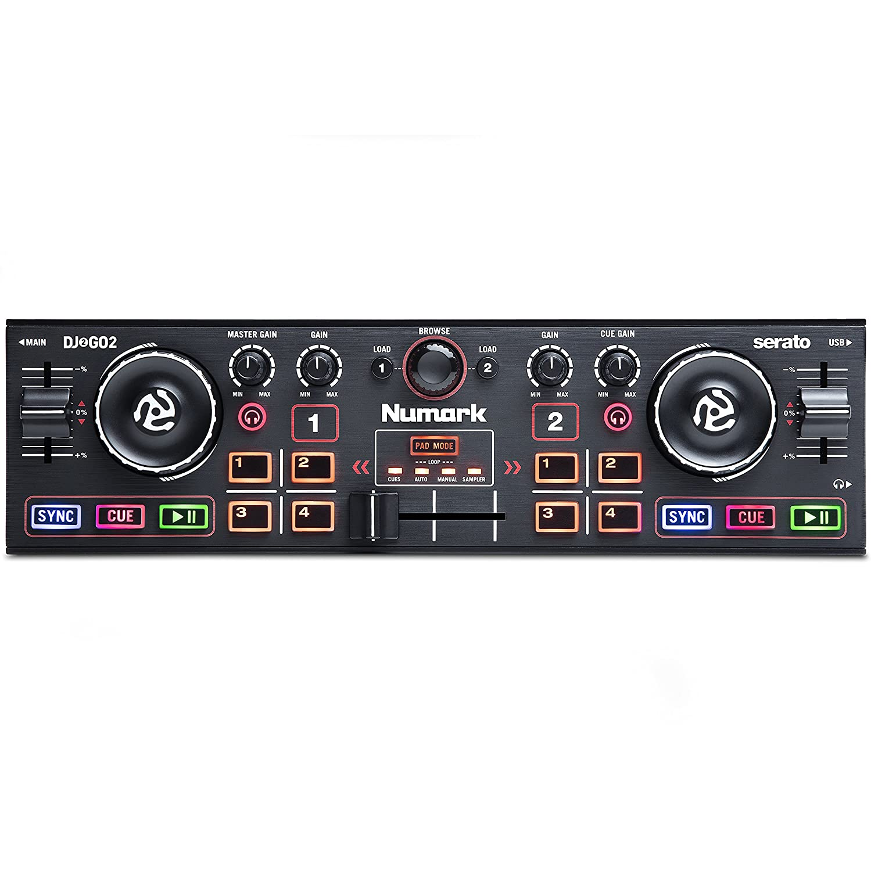 Numark DJ2GO2 | Pocket DJ Controller with Audio Interface: Amazon ...