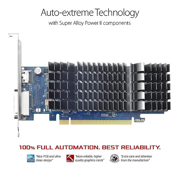 Amazon.com: ASUS PH-GT1030-O2G GeForce GT 1030 - Tarjeta ...
