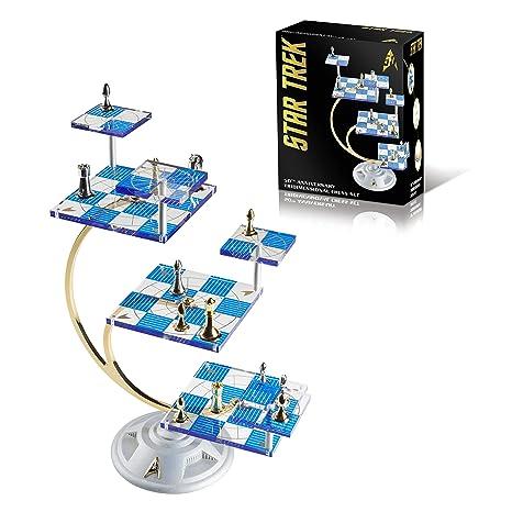 New Franklin Mint Star Trek Tri-dimensional Chess Set