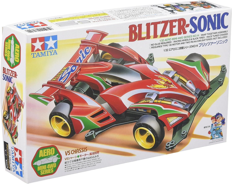 BLITZER Sonic Black Special AERO Mini 4WD