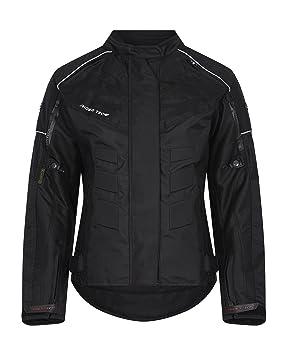 RIDER-TEC - Chaqueta de moto textil Mujer - rt-2400-b, Negro ...