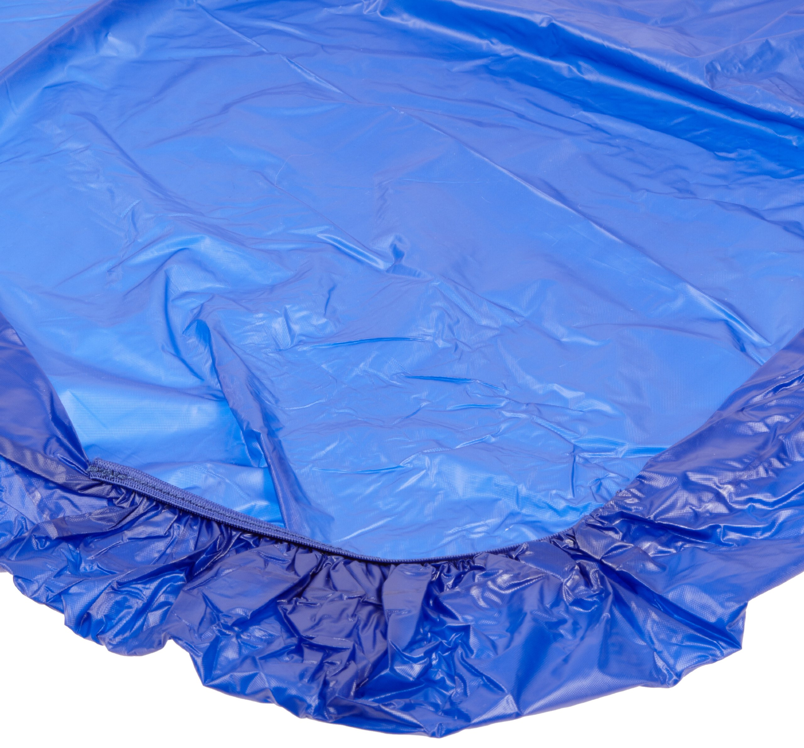 Kwik-Cover 3096PK-B 30'' X 96'' Kwik-Cover - Blue Fitted Table Cover, (Pack of 50)