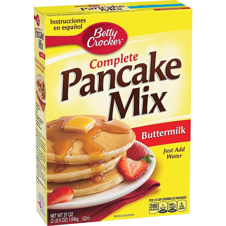 Mezcla de pancake Betty Crocker Butermilk de 37 oz: Amazon ...