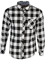 Mens Tokyo Laundry Carlsson Flannel Check Design Brushed Cotton Lumberjack Shirt