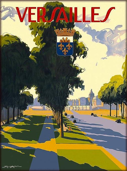 Versailles France French European Travel Art Poster Advertisement