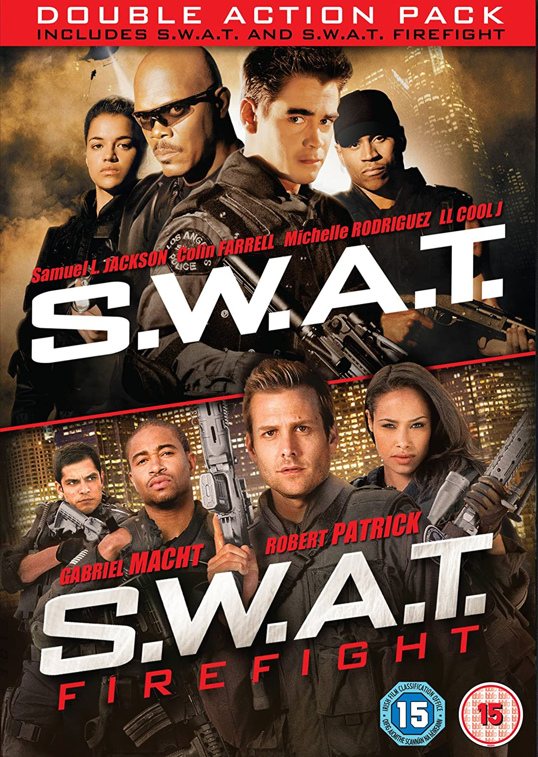 S.W.A.T. 2003 / S.W.A.T.: Firefight - Set Reino Unido DVD: Amazon.es: Movie, Film: Cine y Series TV