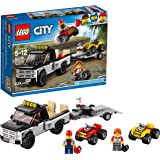 LEGO City ATV Race Team 60148 Building Kit with Toy Truck and Race Car Toys (239 Pieces) (Discontinued by Manufacturer)