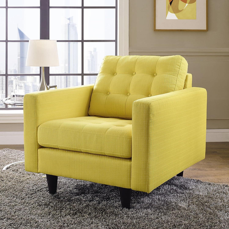 Amazon Modway Empress Mid Century Modern Upholstered Fabric