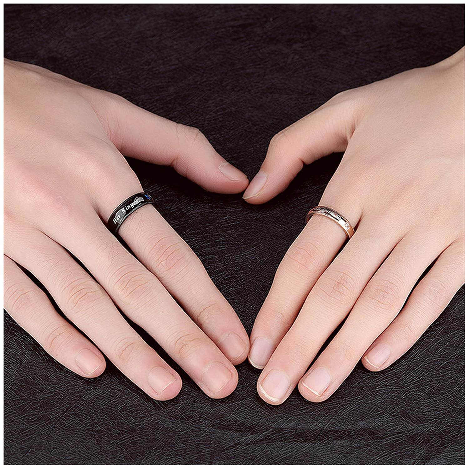 LineAve Couple\'s Matching Ring \