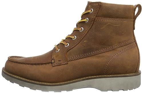 91f3a8380b Amazon.com | ECCO Men's Holbrok Mocc-Toe Boot | Chukka