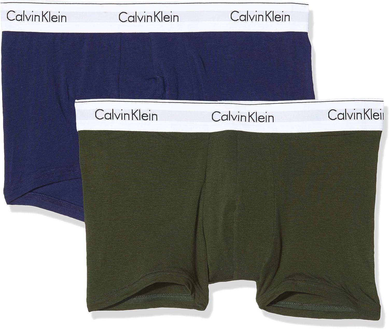 Calvin Klein Bóxer (Pack de 2) para Hombre: Amazon.es: Ropa y ...