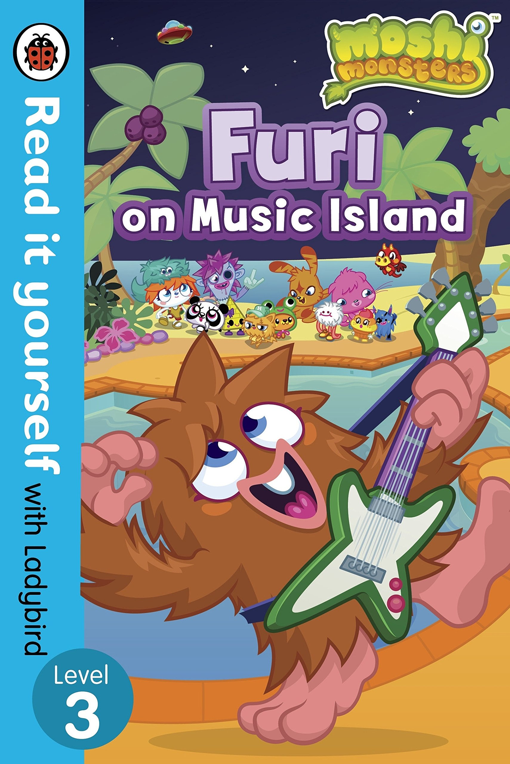Moshi Monsters: Furi on Music Island - Read it yourself with Ladybird: Level 3 pdf