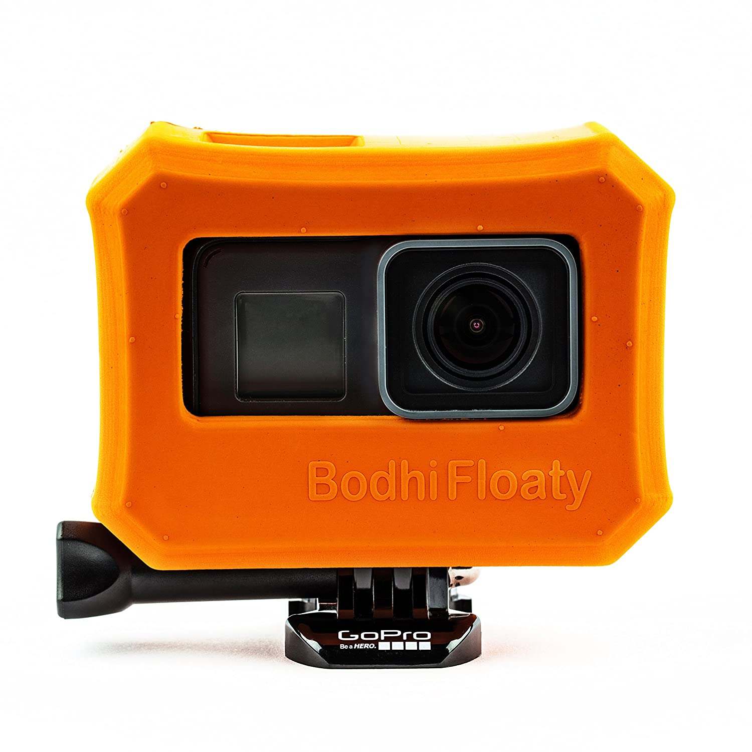 Bodhi Floaty Case, Orange for GoPro Hero 7, Hero 6, Hero 5 Black and Hero 2018