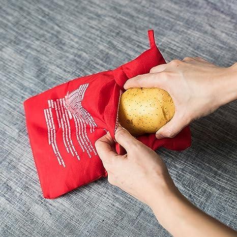 Amazon.com: Express olla de patata microondas bolsa de ...