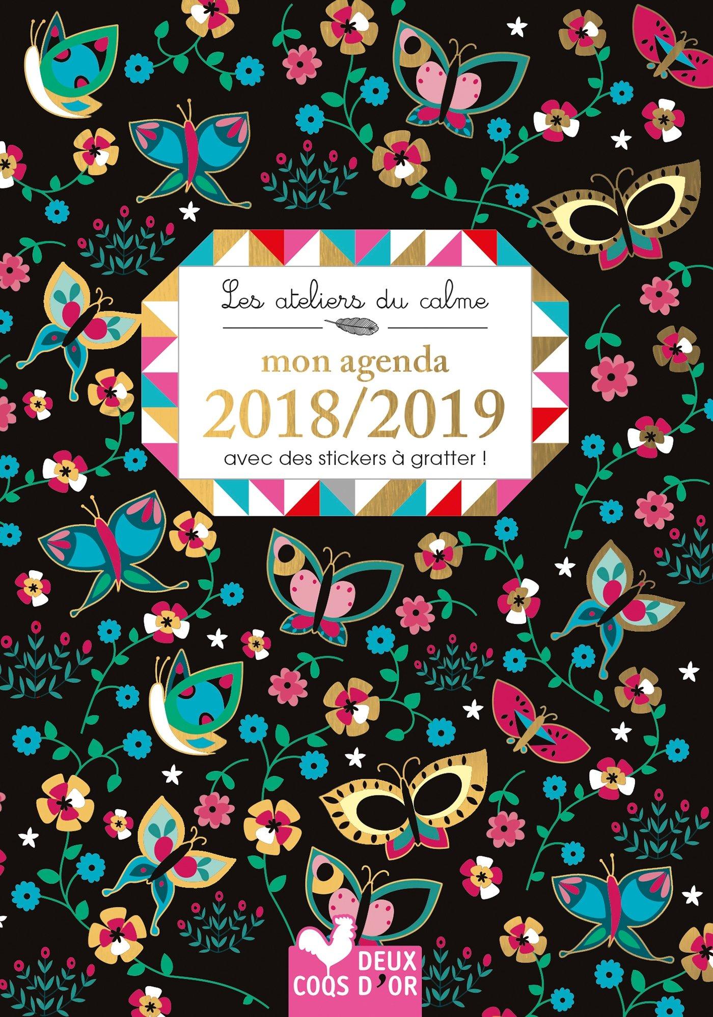 Mon agenda 2018-2019 - avec des stickers à gratter Les ...