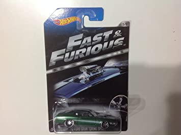Hot Wheels Fast & Furious 72 Ford Gran Torino Sport #5/8 International