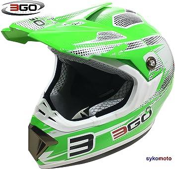 3GO E66X FLASH HOMBRES MUJERES MOTOCROSS DIRT ATV OFF ROAD QUAD ENDURO ACU ECE HOMOLOGADO CASCO