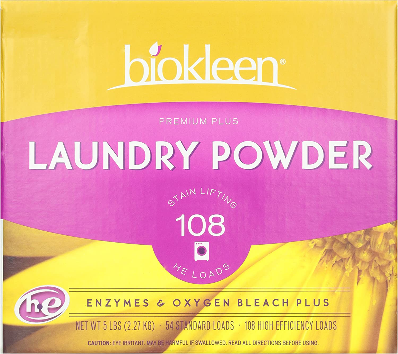 biokleen, Laundry Powder, Premium, 5 lb