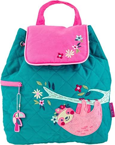 Girls Embroidered Backpack Stephen Joseph Back pack Personalized Cat Animal Back pack