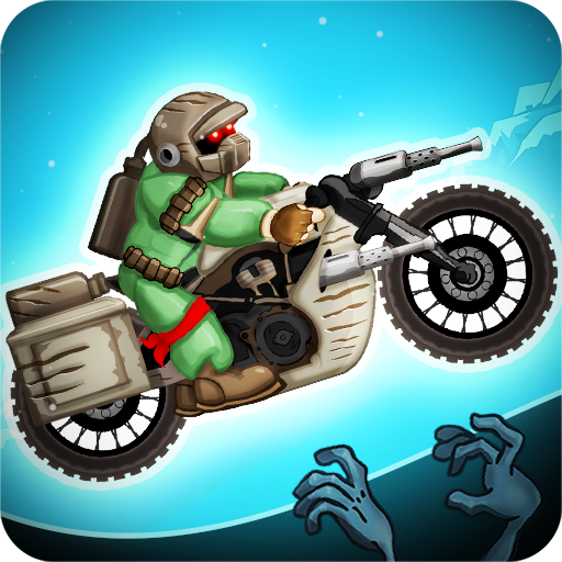Zombie Shooter Motorcycle Race (Cross Three Motor)