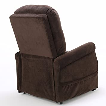Amazon.com Alan Chocolate Fabric Lift Up Recliner Chair Kitchen u0026 Dining  sc 1 st  Amazon.com & Amazon.com: Alan Chocolate Fabric Lift Up Recliner Chair: Kitchen ... islam-shia.org