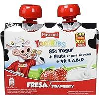Yogur Pascual Yogikids De Fresa Para Llevar Duo