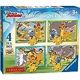Ravensburger Italy 71586 - The Lion Guard, Simpatici e Selvaggi 4 in a Box, Multicolore