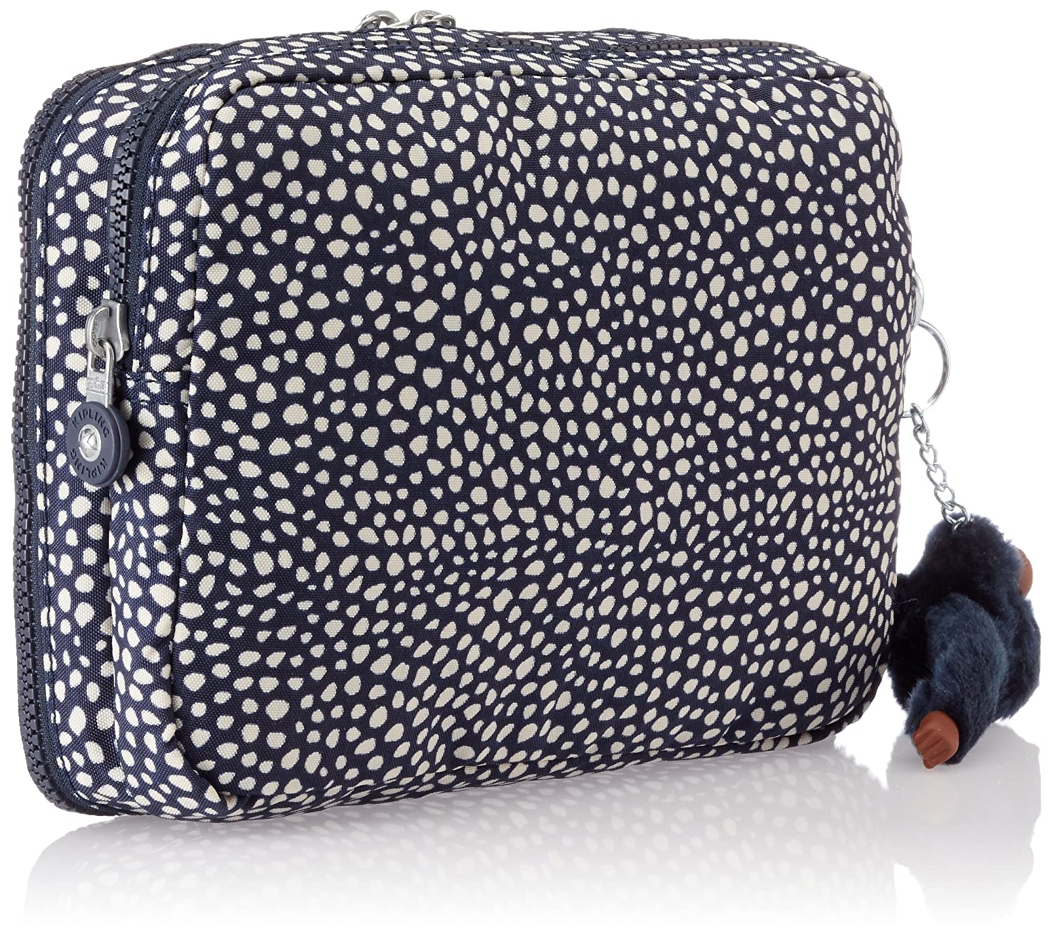 Babybag with changing mat Kipling K1596619M DONNICA Black Black Scale Emb -
