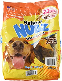 product image for Nylabone Natural Nubz Edible Dog Chews 22Ct. (2.6Lb Bag)