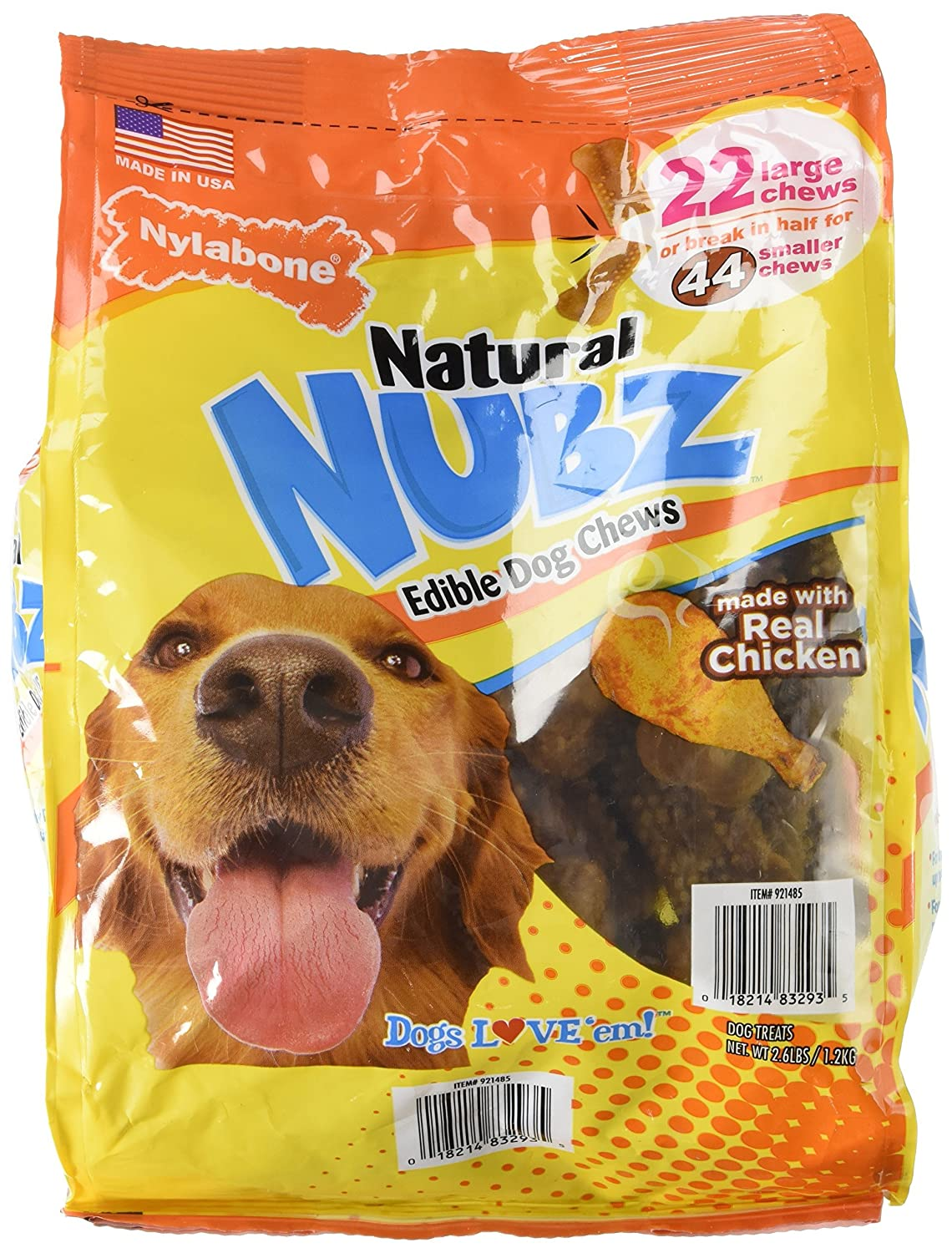 Nylabone Nubz Natural Dog Chew Treats