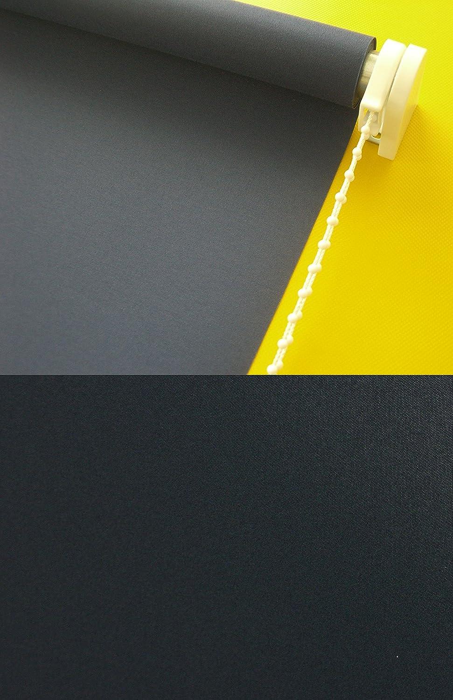 Verdunkelungsrollo Kettenzugrollo Seitenzugrollo Rollo Schwarz schwarz Breite Breite Breite 60-200 cm Länge 180 cm Sonnenschutz Sichtschutz verdunkelnd (200 x 180 cm) B01D4WMCDS Seitenzug- & Springrollos 5a96f3