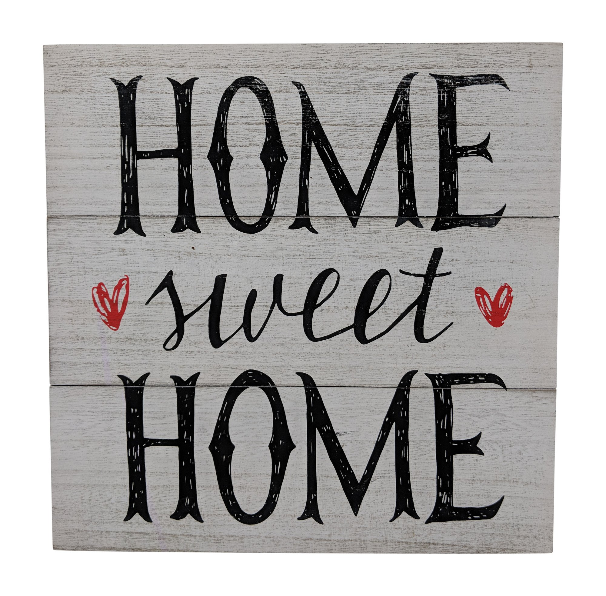 Gianna's Home Rustic Farmhouse Distressed Wood Plank Board Sign (Home Sweet Home) by Gianna's Home