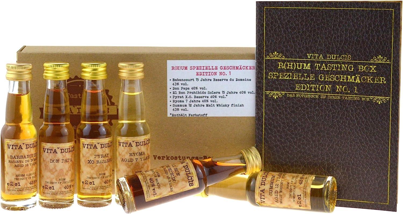 Vita Dulcis Caja de cata de Ron No. 2: gustos especiales 6x0 ...
