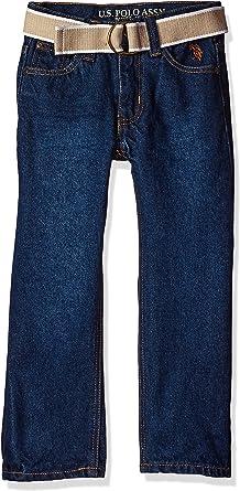 U.S Polo Assn Boys Straight Leg Denim Jean
