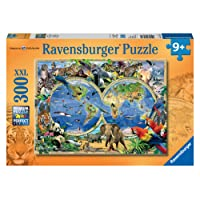Ravensburger World of Wildlife Puzzle 300pc,Children's Puzzles