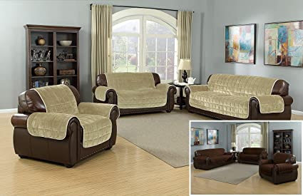 Pleasing Amazon Com Quick Fit The Original Flannel Reversible Lamtechconsult Wood Chair Design Ideas Lamtechconsultcom