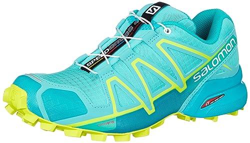 Salomon Speedcross 4 Womens Trail Running Shoes Shoes Blue
