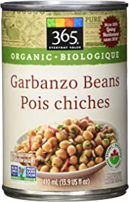 365 Everyday Value Organic Garbanzo Beans, 13.9 US fl oz