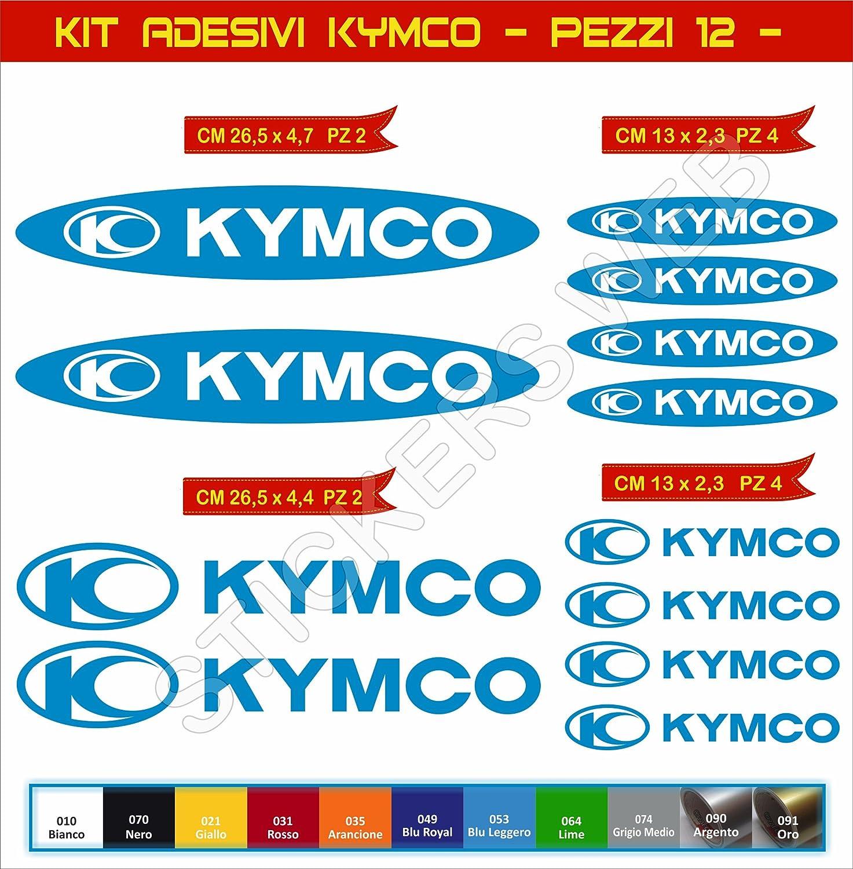 Pimastickerslab Adesivi Stickers KYMCO Moto Motorbike cod.0610