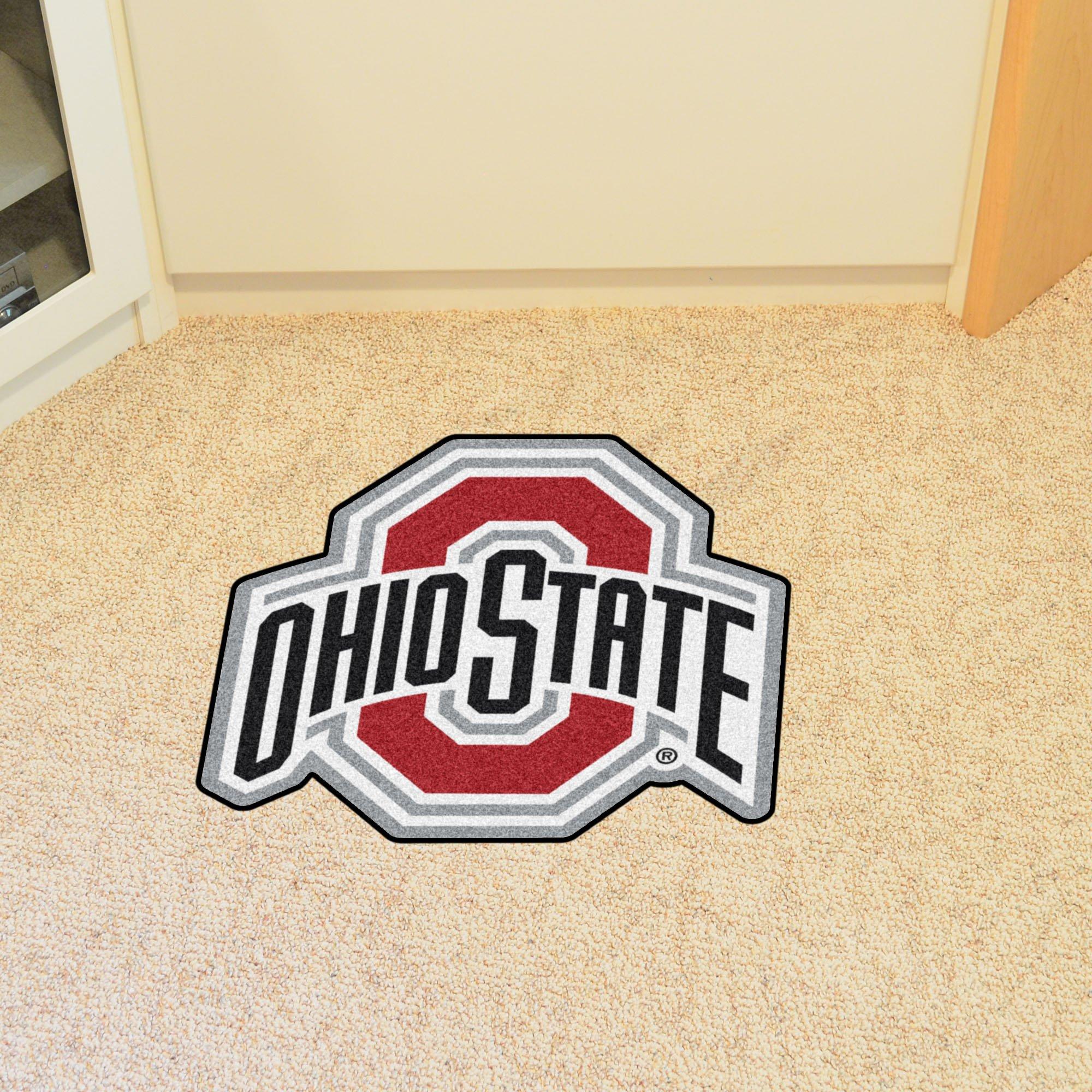 Fanmats 14086 Ohio State Mascot Mat