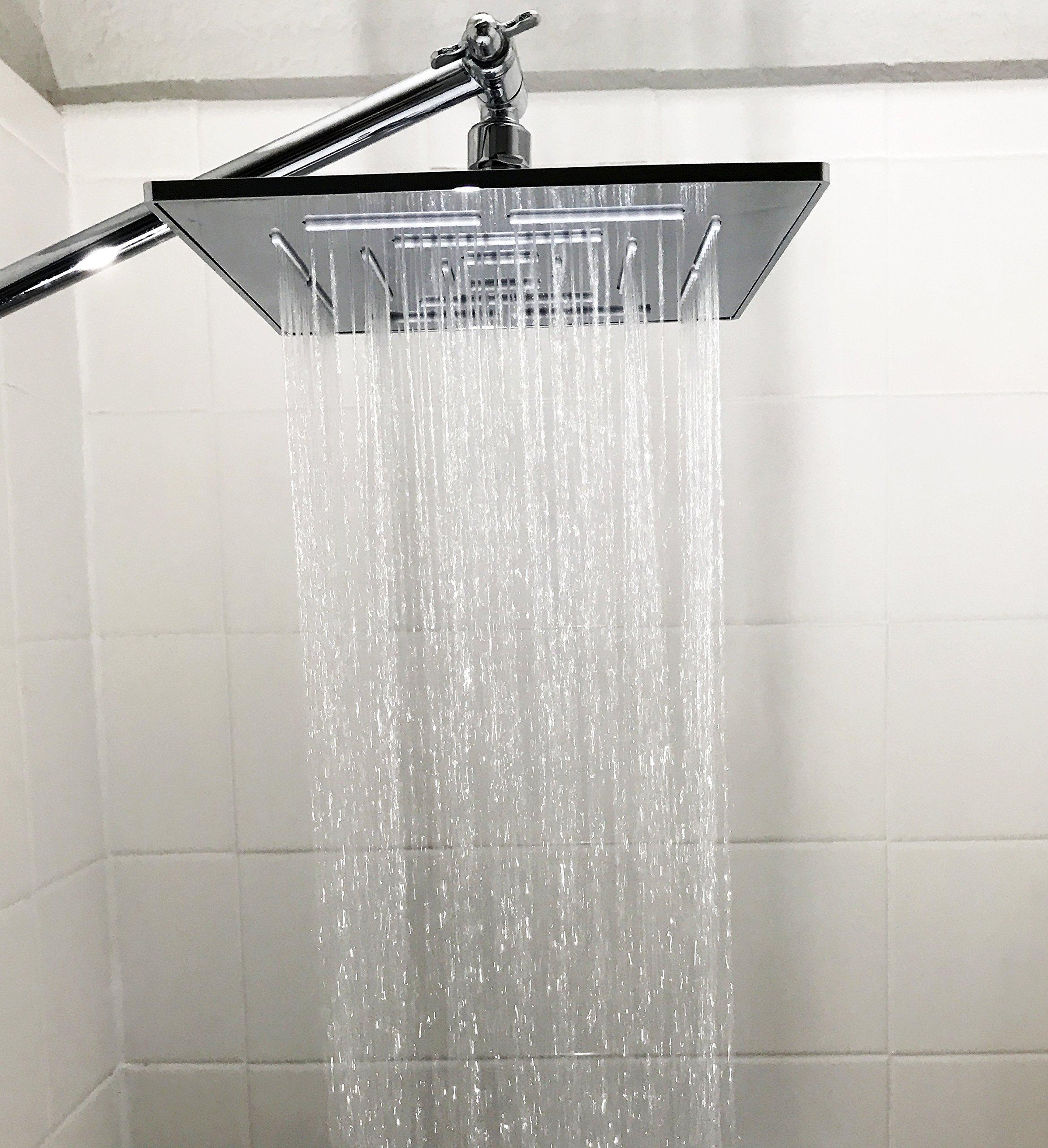 Genesis Bathroom Creations - 8 Inch Brass Rain Shower Head With ...