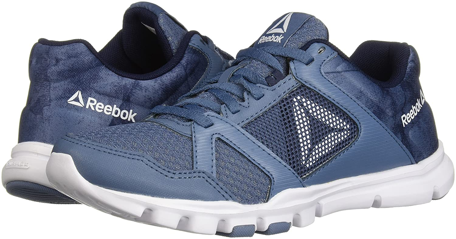 Reebok Women's Yourflex Trainette 10 MT Cross Trainer B077ZCBC28 10 B(M) US|Blue Slate/Collegiate Navy