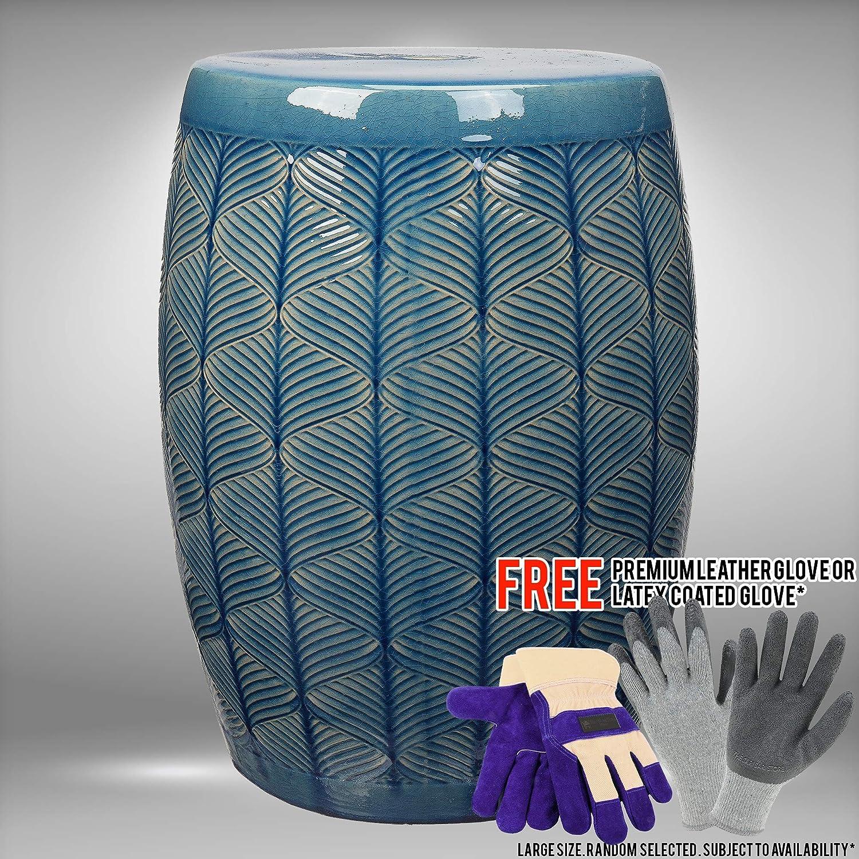Astonishing Amazon Com Bhg 17 Portable Marina Modern Ceramic Textured Ncnpc Chair Design For Home Ncnpcorg