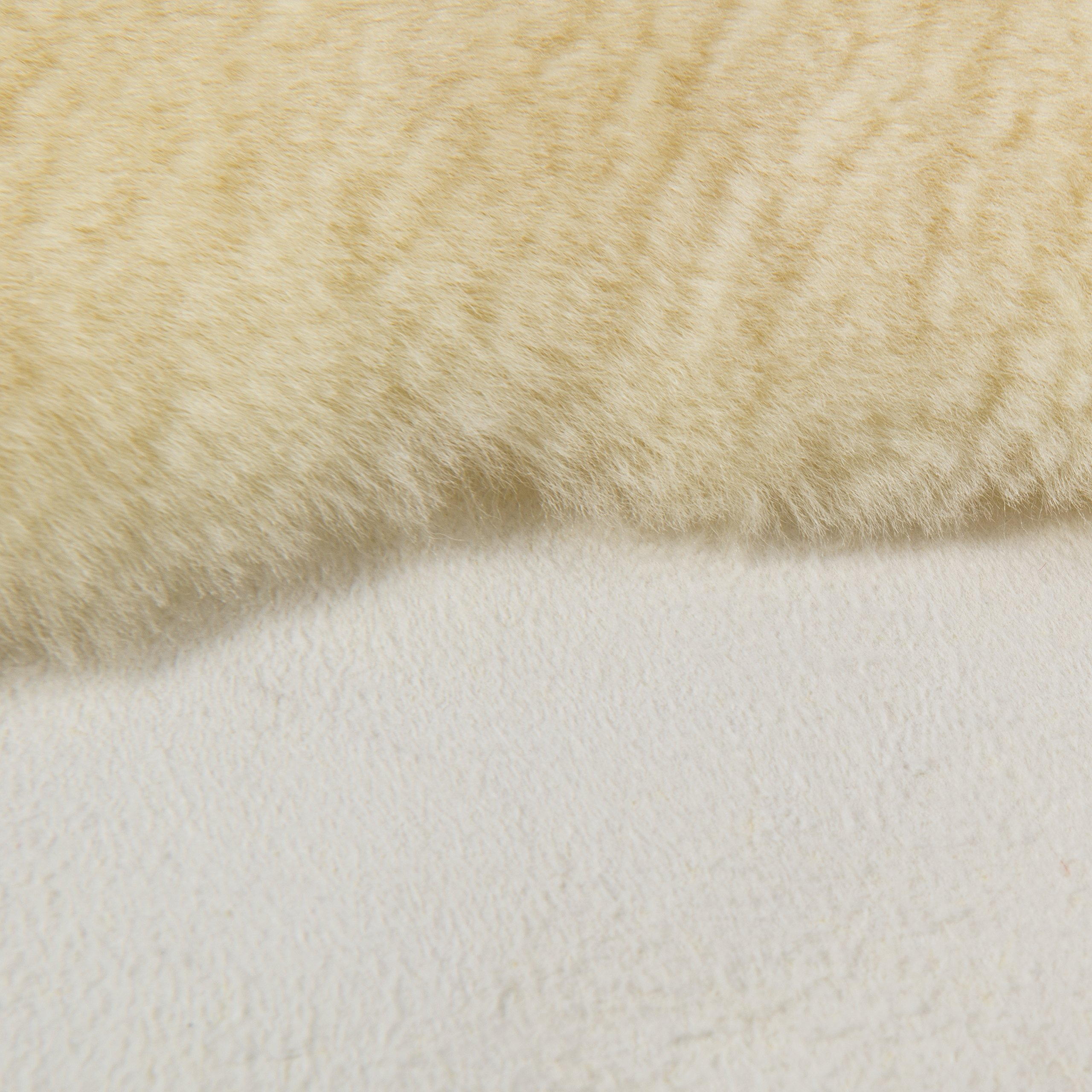 DMI Natural Sheepskin Wool Comfort Mattress Bed Pad Bed Mat, Washable, 8 to 9 Square Feet, Beige by Briggs (Image #4)