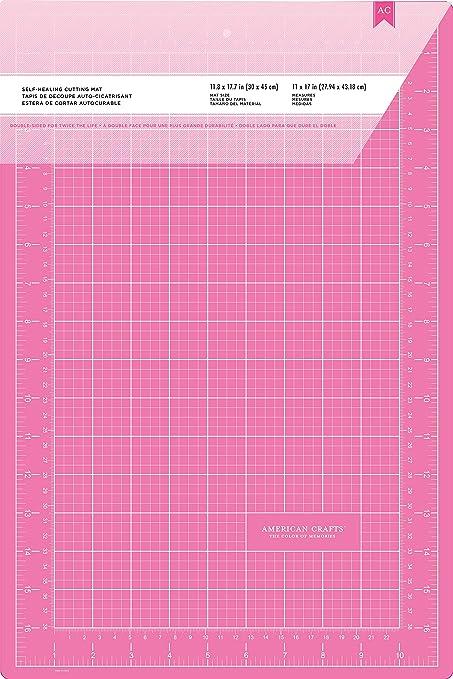 American Crafts Self Healing Cutting Mat 18 by 24-Inch