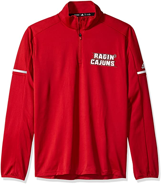 Amazon.com : adidas NCAA Mens Sideline L/S 1/4 Zip Pullover ...