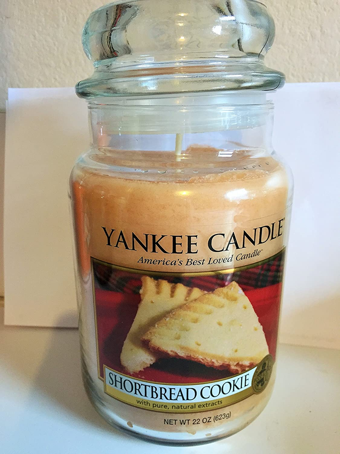 YANKEE CANDLE 22 oz Tarro de Galletas de Mantequilla Color: Lavanda: Amazon.es: Hogar